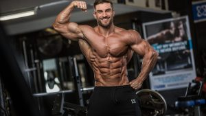 Muscle hypertrophy after HGH use