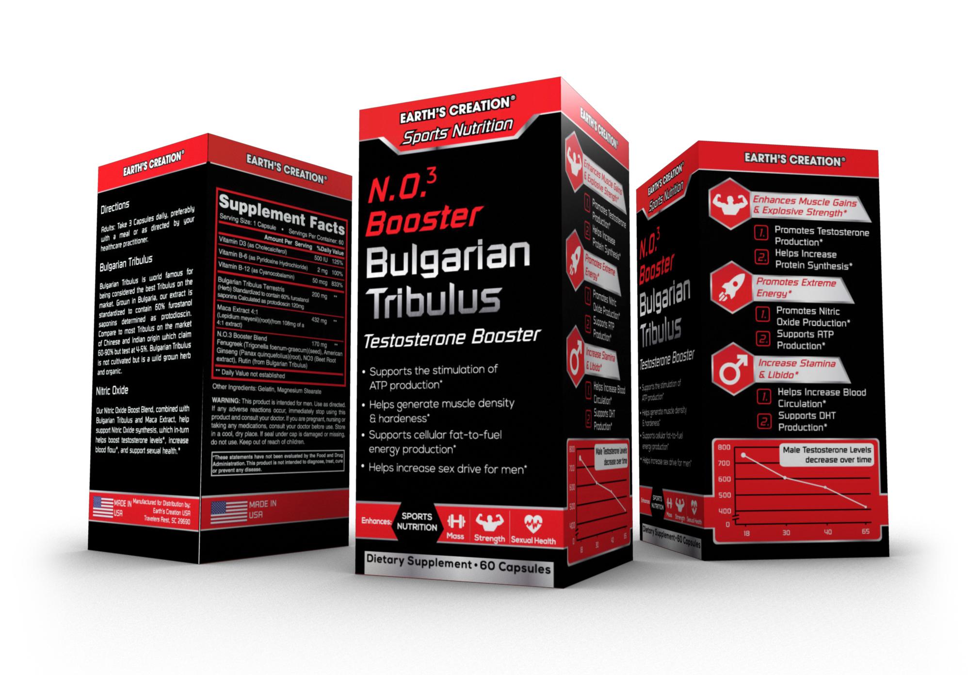 Testosterone booster - Bulgarian Tribulus